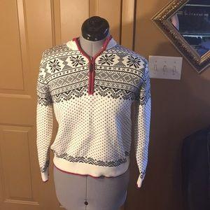 Boys LL bean holiday sweater